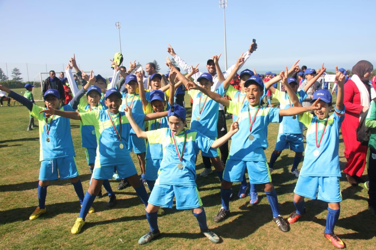 تكريم فعاليات رياضية في دوري المودة للصغار من تنظيم نادي اولمبيك الجديدة