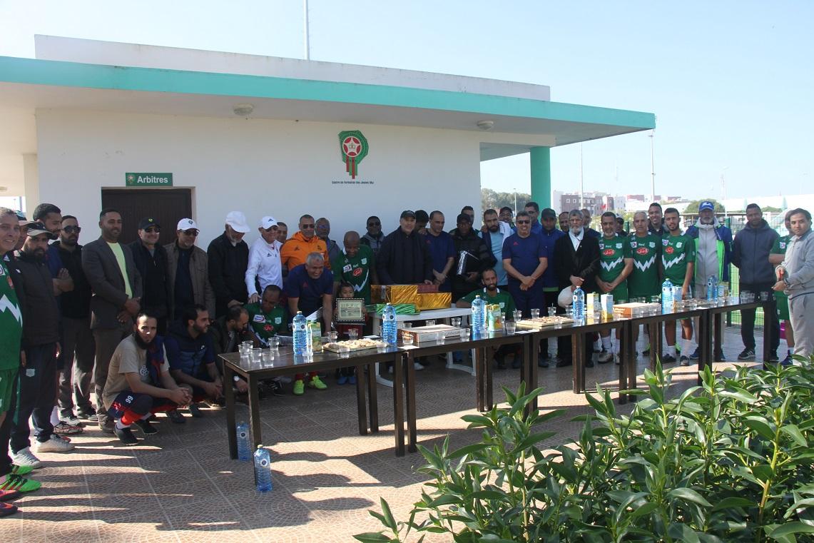 جمعية الوفاق الرياضي بالجرف الاصفر تكرم لاعبيها القدماء