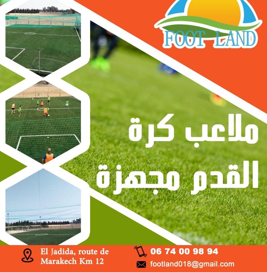 افتتاح فضاء رياضي مجهز بالعشب الاصطناعي لممارسة كرة القدم بضواحي الجديدة بطريق مراكش