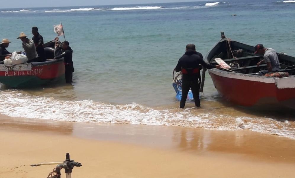 البحر يلفظ بشواطىء الجديدة جثة بحري اعتبر في عداد المفقودين