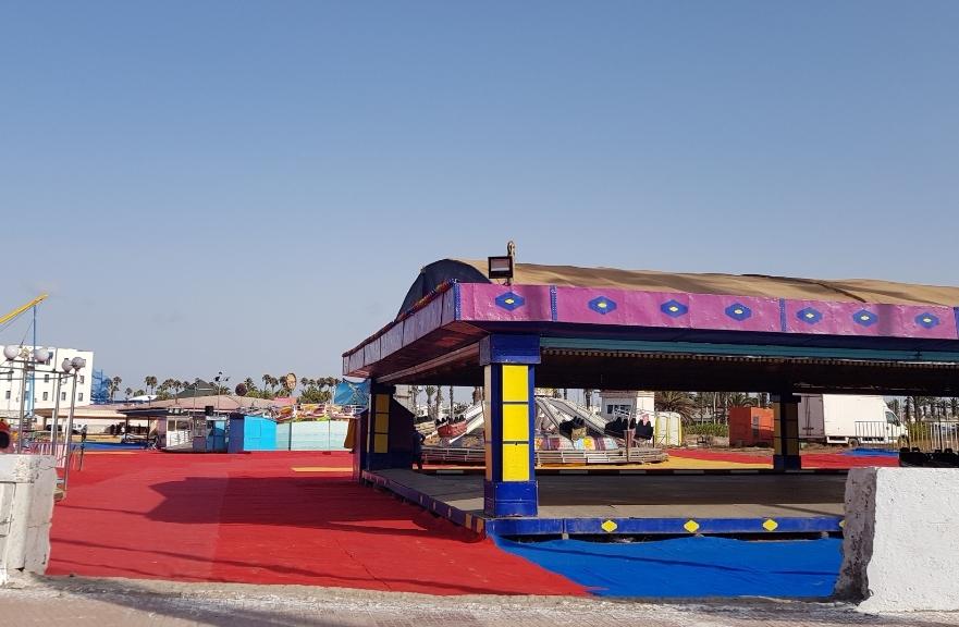 شركة تبدي نيتها في منح الجماعة الحضرية 200 مليون سنتيم مقابل اقامة سيرك للألعاب بالجديدة