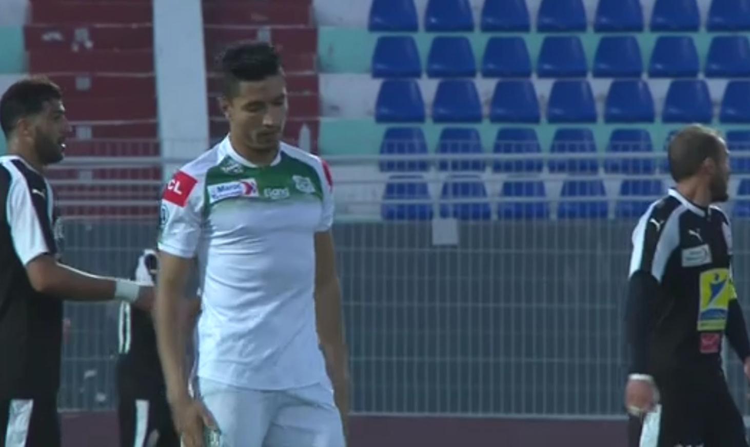 ''جامعة فوزي لقجع '' توقف لاعب الدفاع الجديدي المهدي قرناص لمدة سنتين