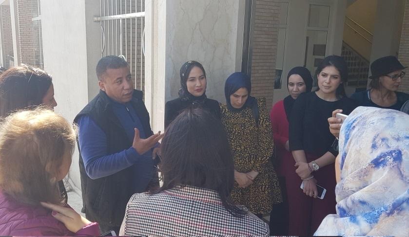شاهد.. جمعية النساء المقاولات تزور 'فضاء مبادرة' للأنشطة المدرة للدخل بالجديدة