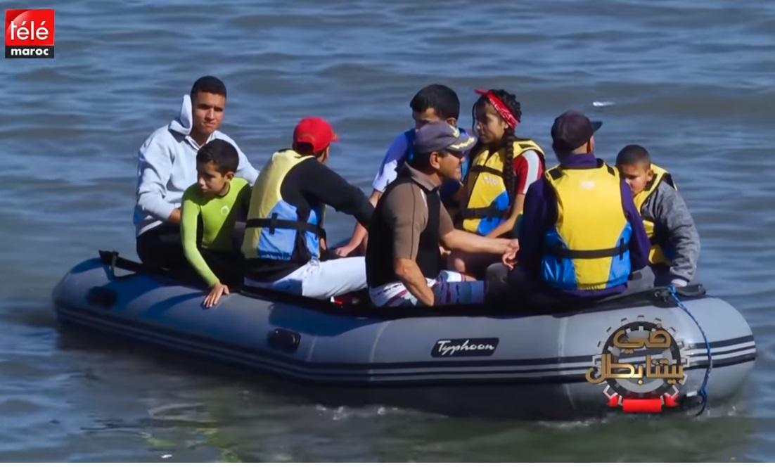 الدفاع الحسني الجديدي للرياضات المائية يعالج أطفال التوحد (قناة تيلي ماروك)