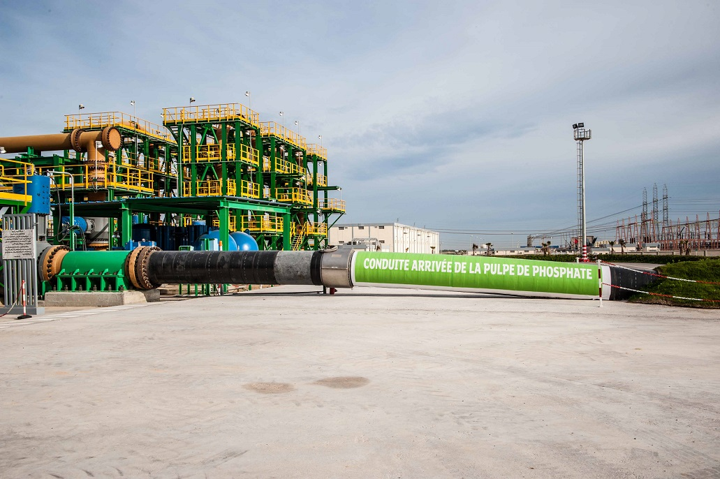 أنبوب نقل لباب الفوسفاط الى الجرف الأصفر: ثورة تكنولوجية تمكن من اقتصاد 3 مليون متر مكعب من الموارد المائية سنويا