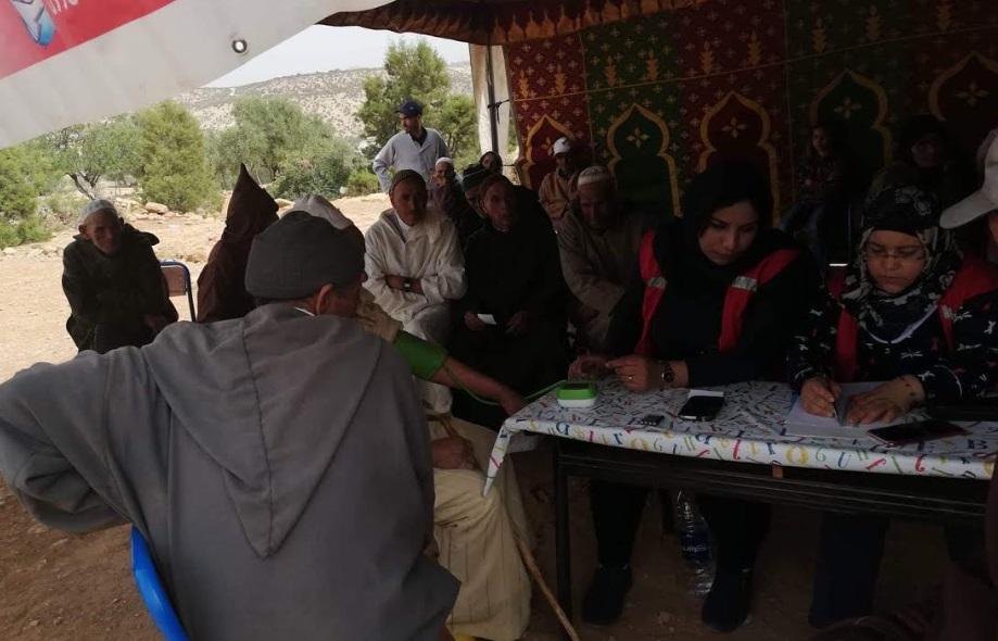 جمعية''جون ماروكان'' بالجديدة تنظم قافلة طبية تضامنية باقليم الصويرة