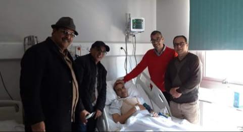 الزميل مصطفى اشواق يخضع لعملية جراحية