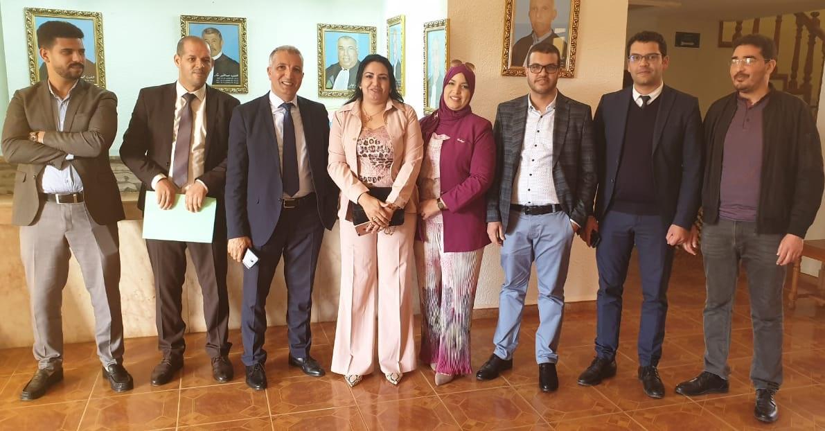 الأستاذة شفيقة الشرف اول سيدة تترأس نادي المحامين الشباب بالمغرب