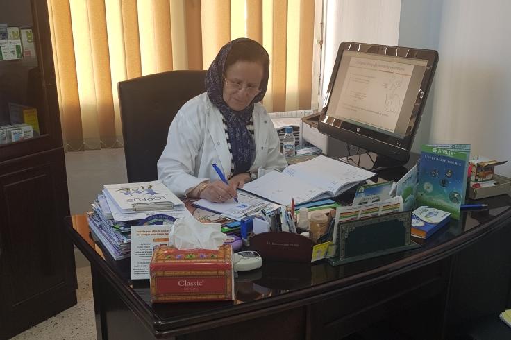 الدكتورة هدى بنموسى تفتتح بشارع محمد الرافعي بالجديدة عيادة متخصصة في الأمراض الصدرية