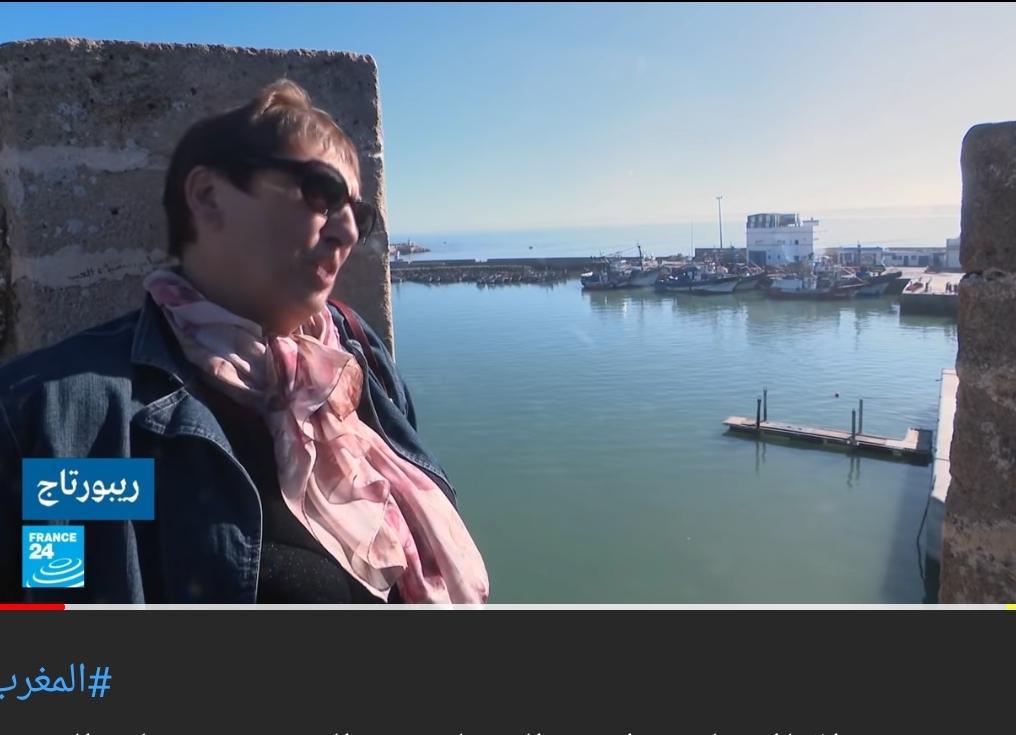 روبورطاج قناة 'فرانس 24' من الجديدة حول الاقبال الملحوظ للمتقاعدين الفرنسيين على العيش في المغرب