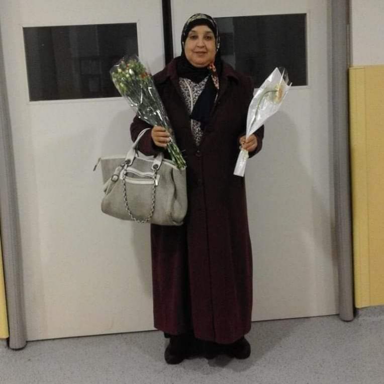 تعزية في وفاة الممرضة بمستشفى الجديدة خديجة عماد بالديار المقدسة