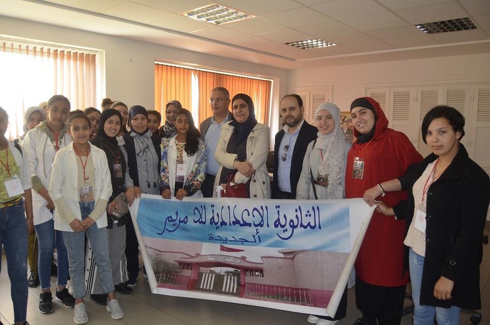 نادي الصحة باعدادية للامريم بالجديدة  يحتفي بالأسبوع الوطني للرضاعة الطبيعية بمستشفى محمد الخامس