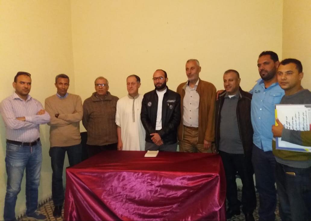 حزب المؤتمر  الوطني بفرع ازمور يجدد هياكله وينتخب قيادة جديدة