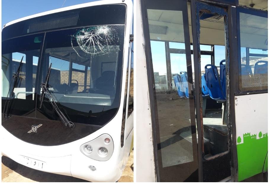 ارتفاع وثيرة الاعتداءات ضد حافلات النقل الحضري بآزمور والجديدة منذ بداية شهر رمضان