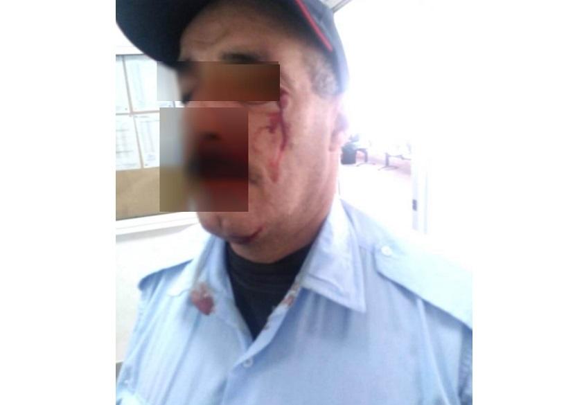 مواطن معتدى عليه يشكو  للحموشي ضابط شرطة بأمن الجديدة