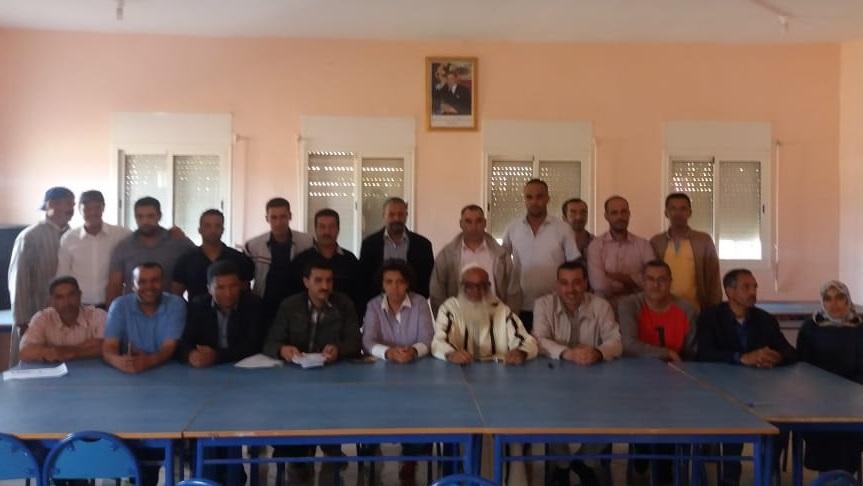 جمعويون يؤسسون باولاد فرج ''الجمعية الجهوية للتنمية الفلاحية بجهة الدار البيضاء سطات''