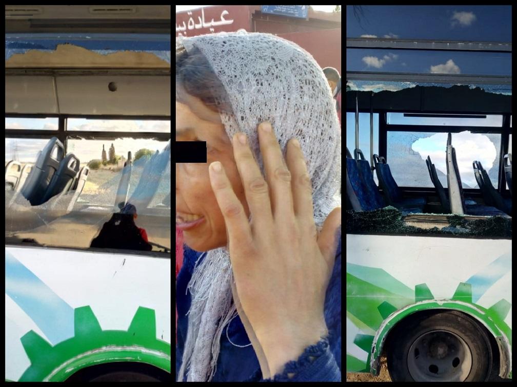 شجار بين مجموعة من الجانحين تسبب في إصابة امرأة وطفلها وفي تخريب حافلة للنقل الحضري ضواحي الجديدة