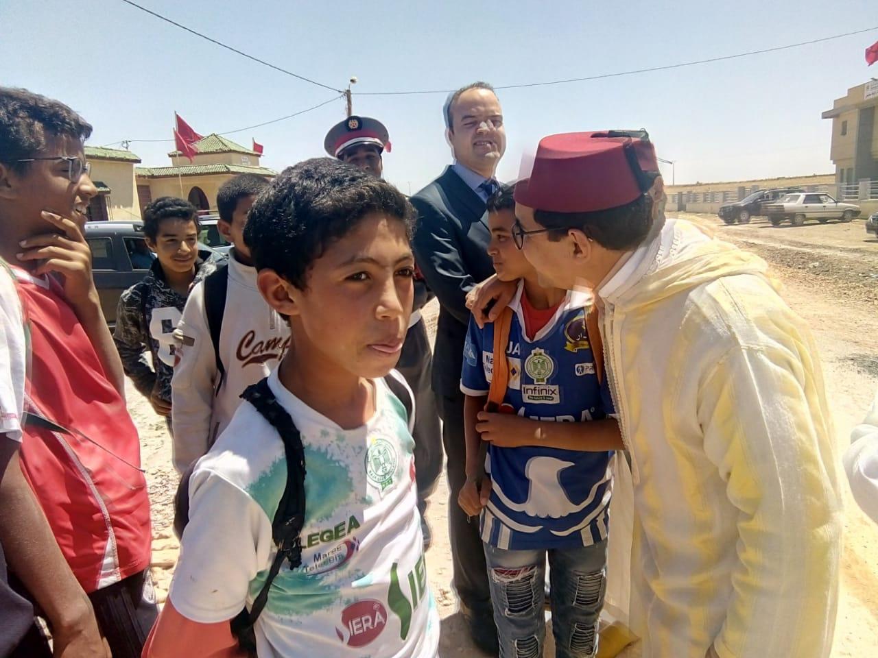 المسؤول الترابي محمد الكروج في زيارات عمل إلى الجماعات الترابية بإقليم الجديدة