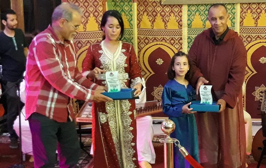 بالصور.. الاحتفاء بابناء ازمور المتوجين في ملتقى سجلماسة الوطني لفن الملحون