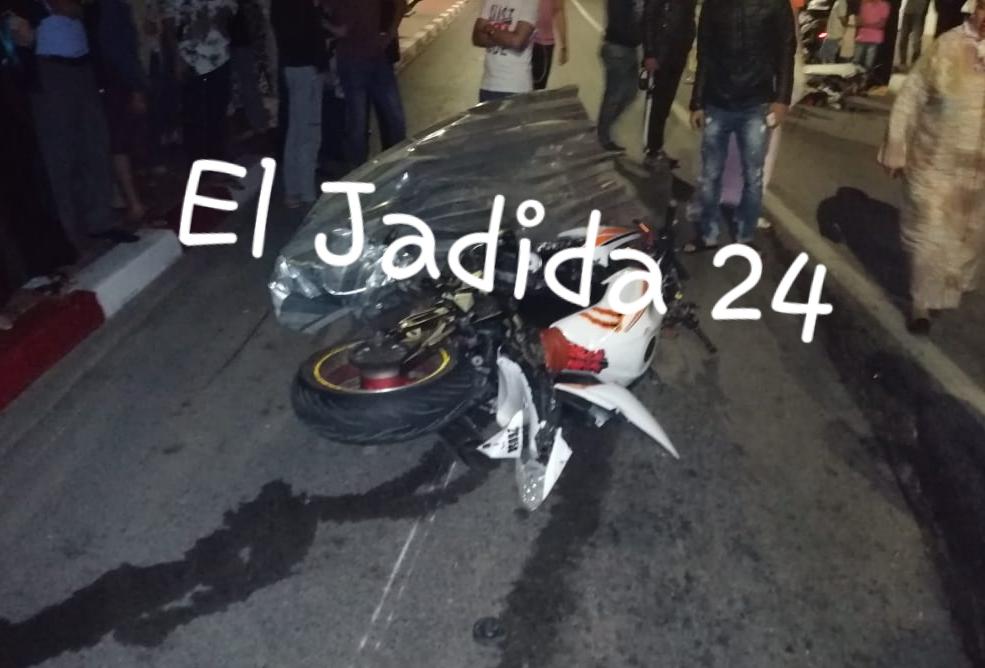 عاجل.. مصرع فتاة شابة واصابة 6 آخرون في اصطدام دراجتين سريعتين وسط الجديدة