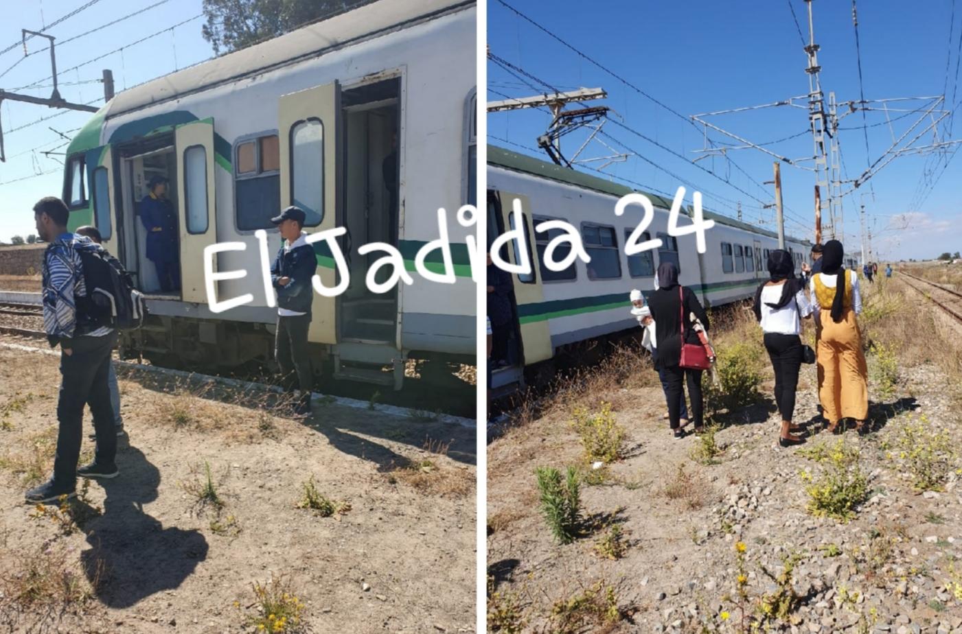 غضب في صفوف المسافرين بعد توقف قطار في الخلاء قرب الجديدة لأكثر من ساعتين