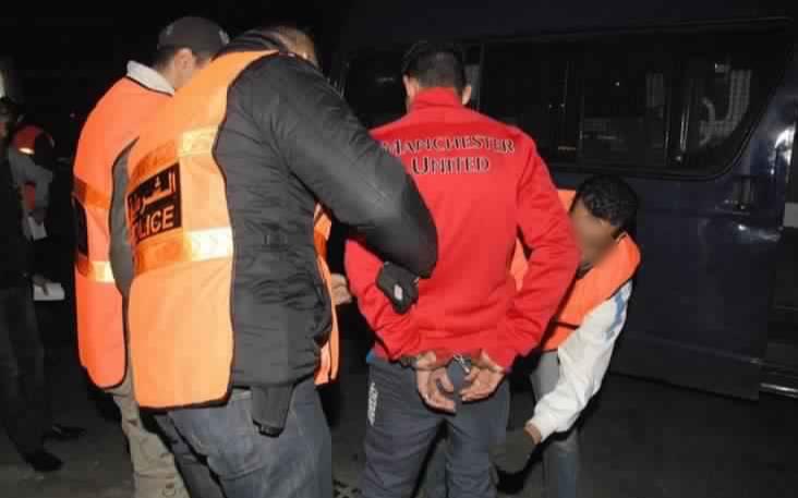 إصابة مفتش شرطة بالجديدة  إثر تفكيك عصابة إجرامية روعت المواطنين