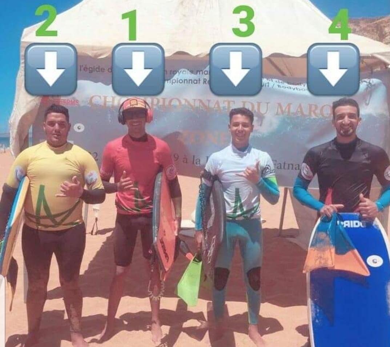 جمعية 'ازما إكستريم' تتألق في بطولة المغرب لرياضة ركوب الامواج بآسفي