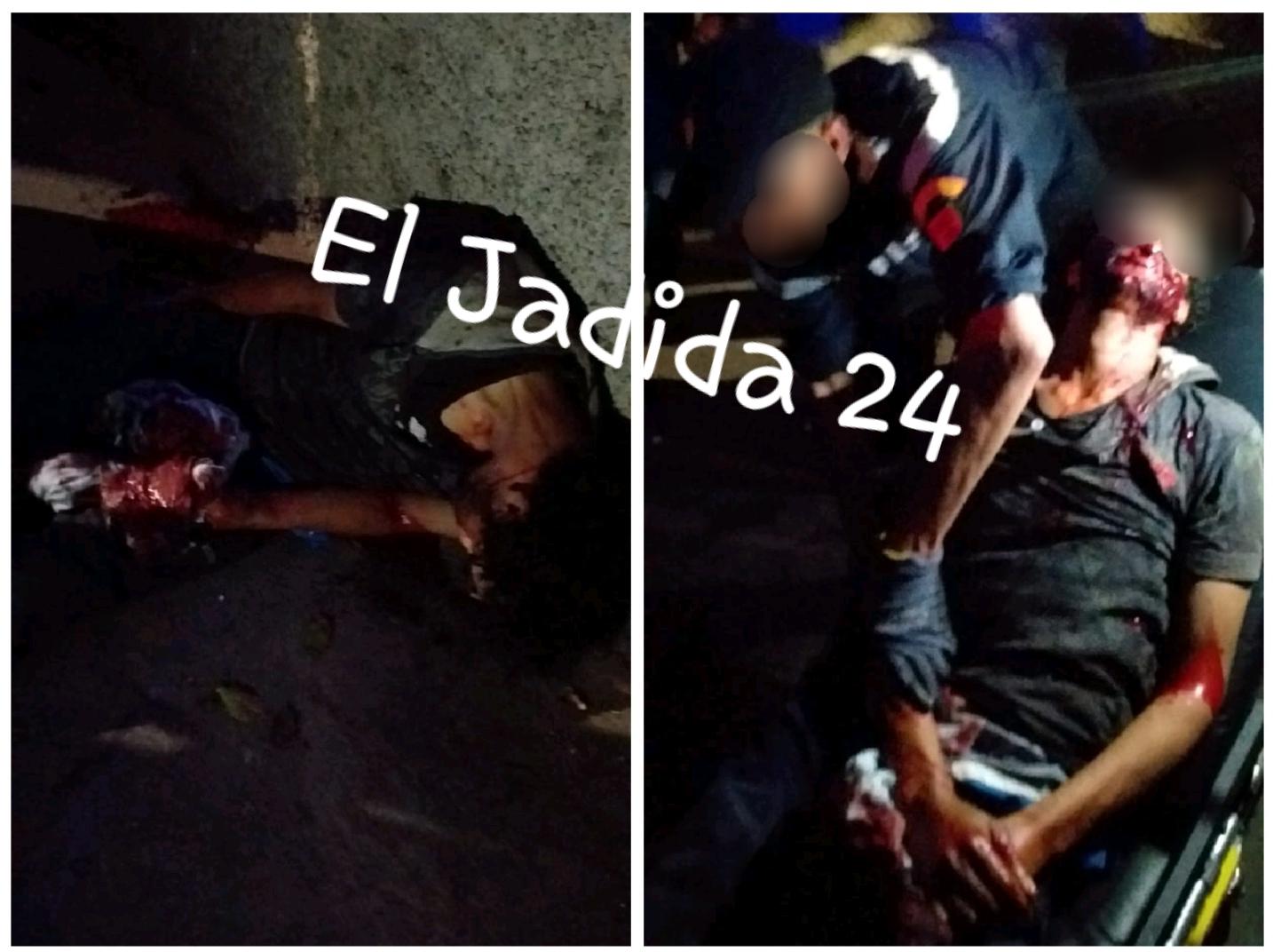 شجار بين مخمورين قرب مقر الدائرة الثانية للأمن بالجديدة كاد أن ينتهي بجريمة قتل