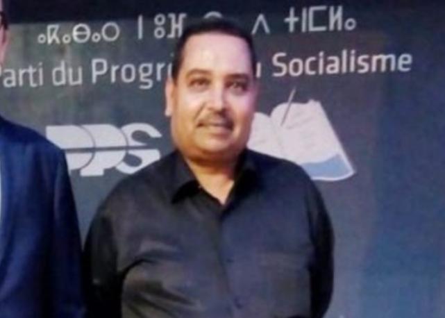 تعزية في وفاة عبد الرحيم النزهاوي كاتب فرع حزب التقدم والإشتراكية بجماعة هشتوكة