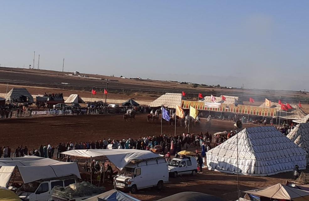 اختتام فعاليات مهرجان سيدي امحمد الطيبي بجماعة زاوية سايس باقليم الجديدة