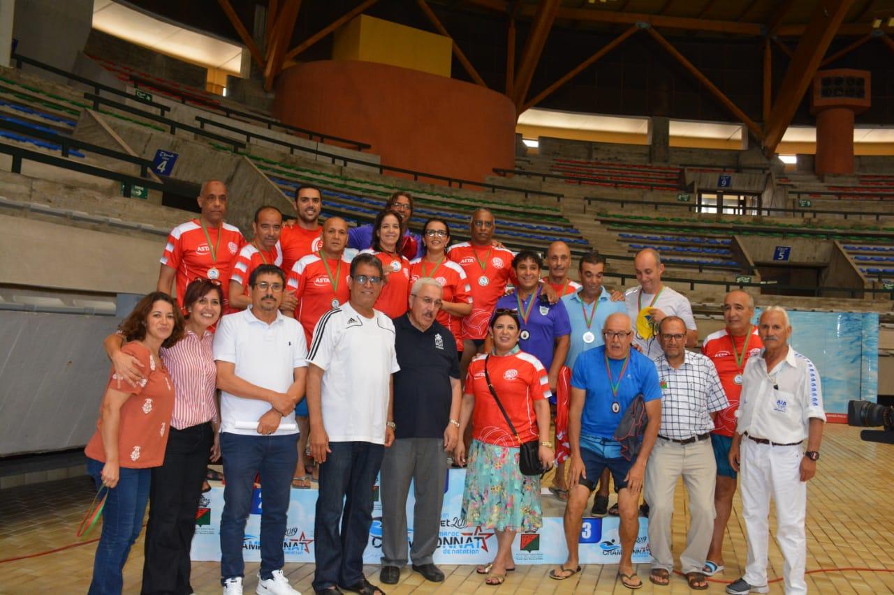 الدفاع الحسني الجديدي يحصد نتائج مبهرة في البطولة الوطنية للسباحة