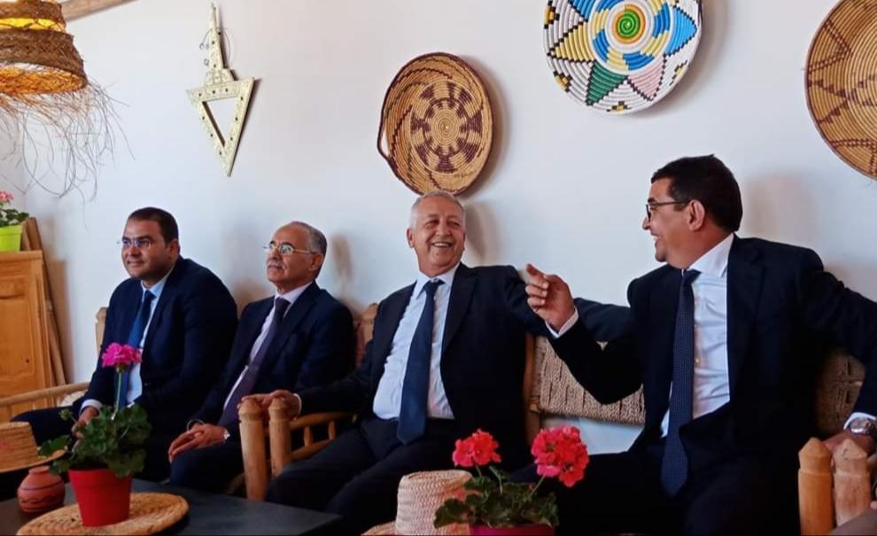 بالصور .. وزير السياحة محمد ساجد يتفقد المعالم السياحية لاقليم الجديدة