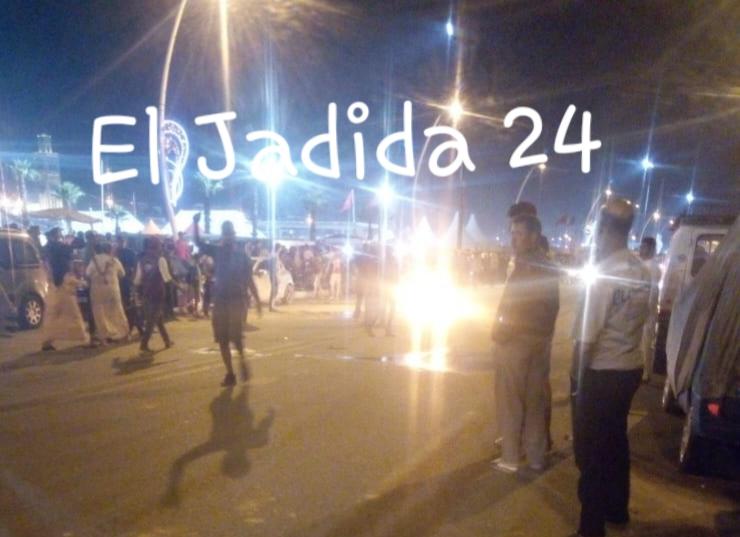 اندلاع النيران في قنينة غاز بالشارع العام يتسبب في هلع بموسم مولاي عبد الله أمغار