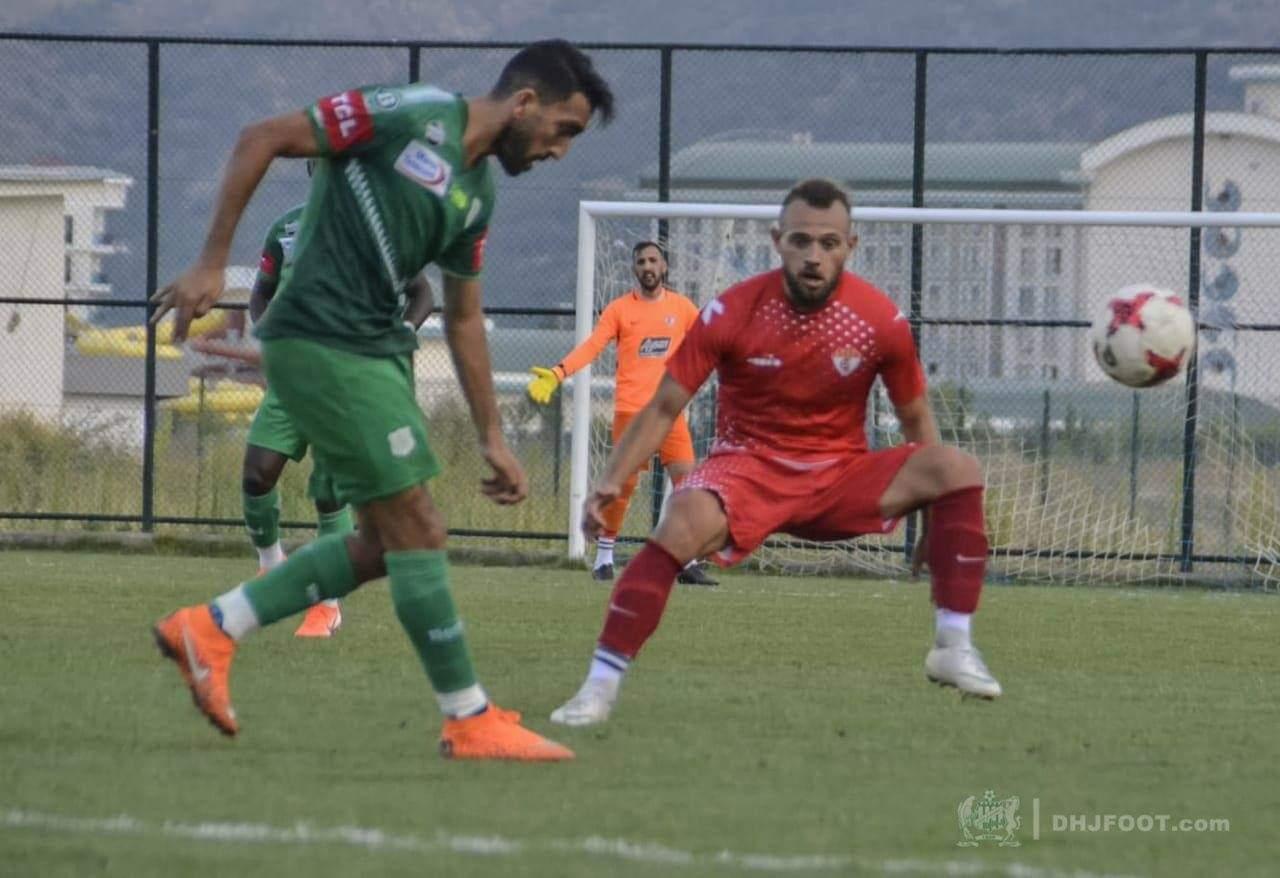 فريق الدفاع الحسني الجديدي يفوز وديا على إديرني سبور التركي