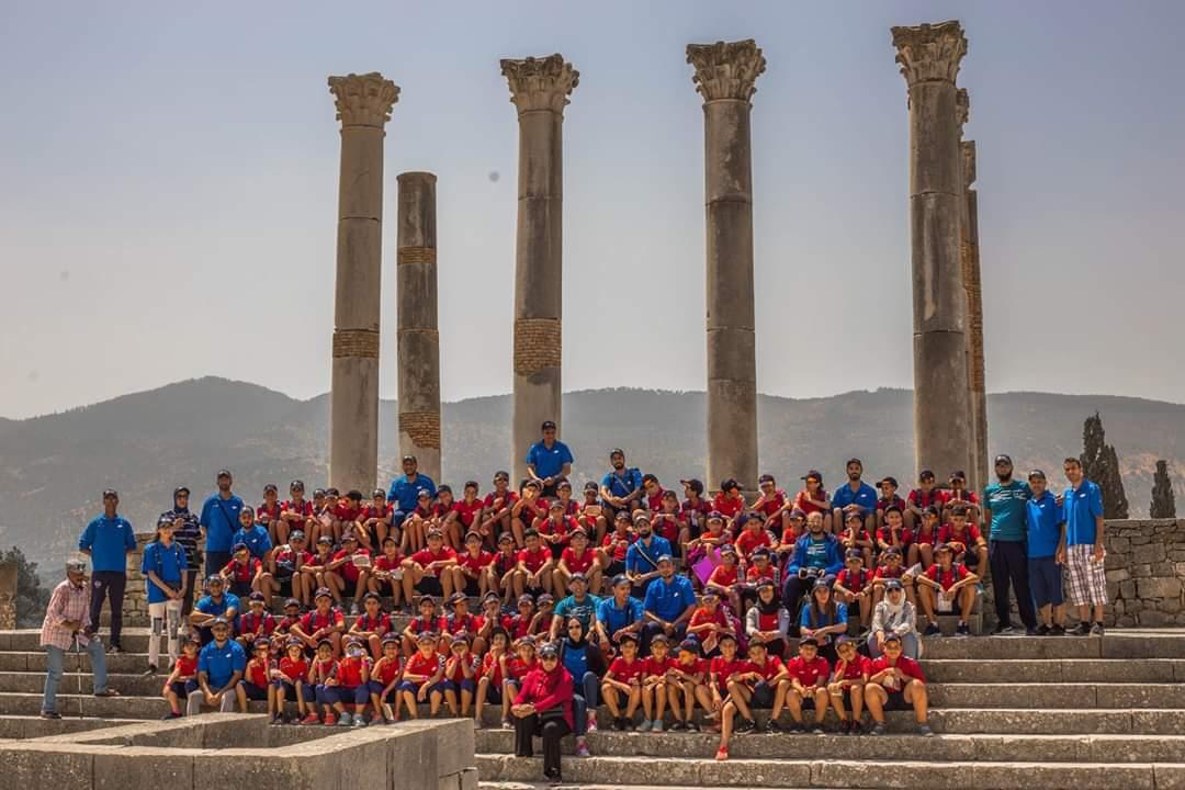 افران: اختتام النسخة الرابعة للمخيم الصيفي للنادي الرياضي للكهربائيين بالجرف الاصفر
