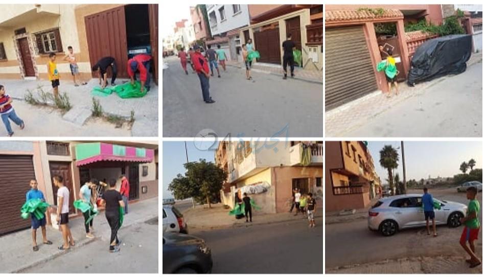 جمعية الوصال السكنية بالمويلحة تساهم في توزيع اكياس عيد الاضحى بالجديدة