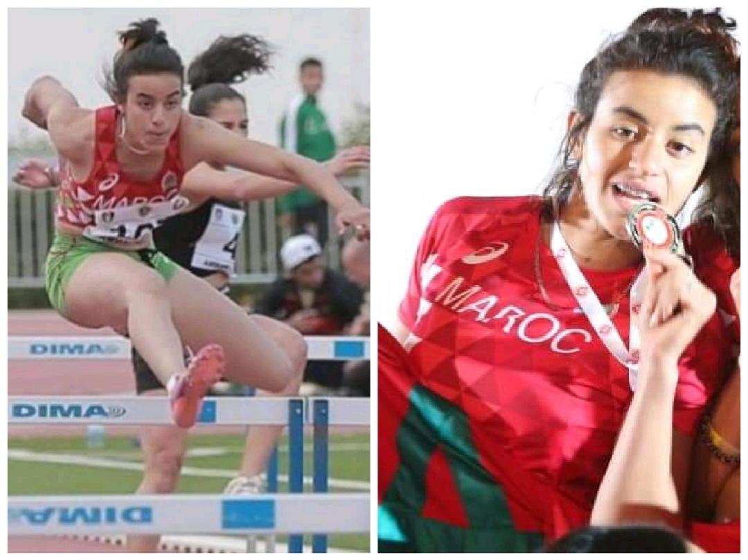 عداءة من نهضة اتلتيك الزمامرة لالعاب القوى تمثل المغرب في منافسات الألعاب الإفريقية