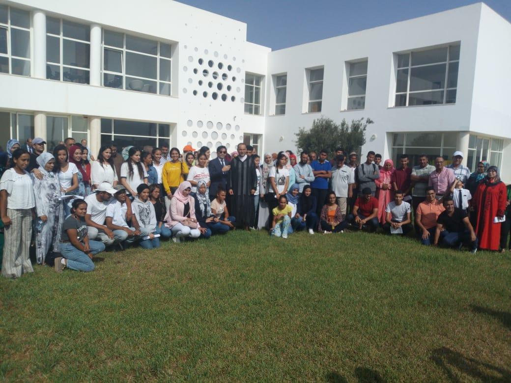 44 تلميذا من إقليمي الجديدة و سيدي بنور يلتحقون بالجامعة الاوروبية متوسطية (أورو ميد) بفاس