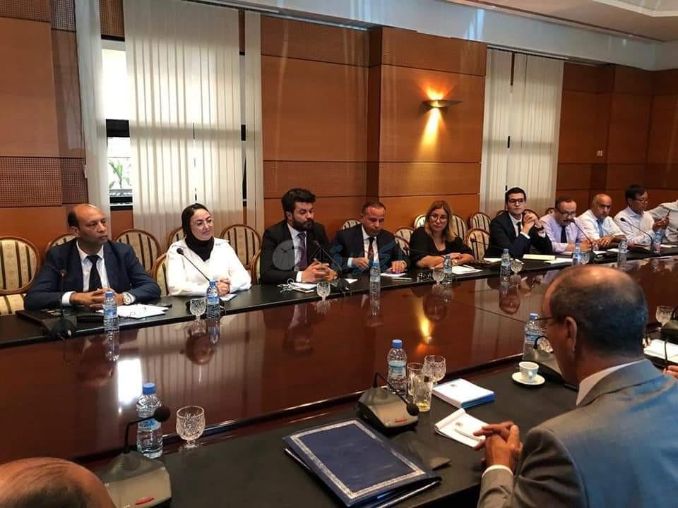 مكتب الاتحاد العام لمقاولات المغرب بالجديدة في مجلس المستشارين