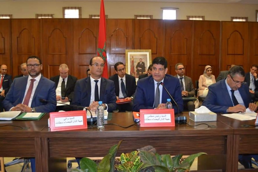 مجلس جهة الدار البيضاء يدعم فريقي الدفاع الحسني الجديدي ونهضة الزمامرة ب150 مليون سنتيم