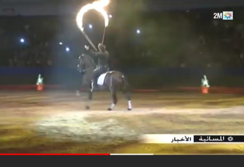 تقرير القناة الثانية حول افتتاح الدورة 12 لمعرض الفرس بالجديدة