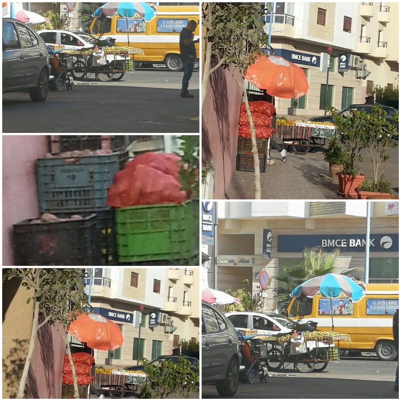 استفحال ظاهرة الباعة المتجولين بمدارة حب لملوك وحي الشهدة يثير استياء ساكنة حي ملك الشيخ بالجديدة