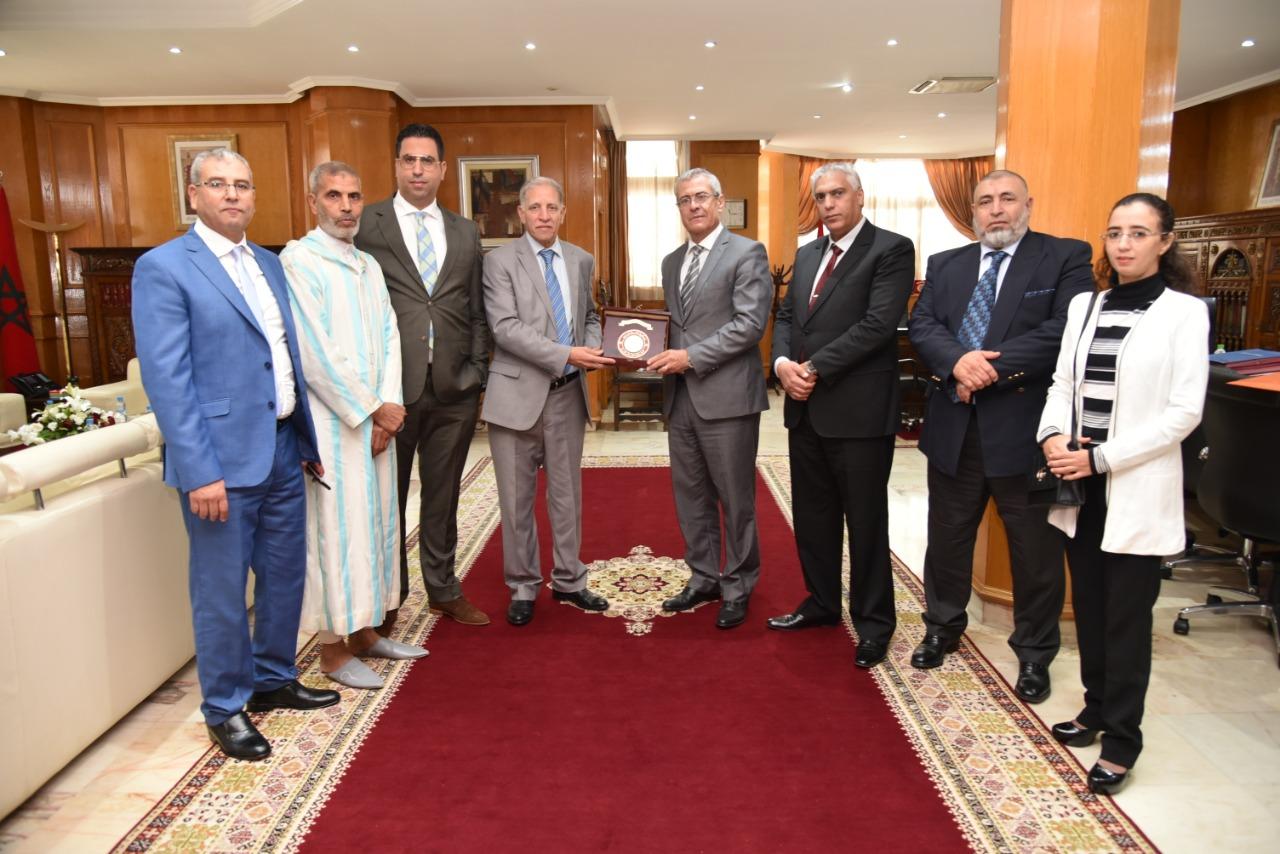 رابطة قضاة المغرب في لقاء خاص مع وزير العدل الجديد محمد بن عبد القادر