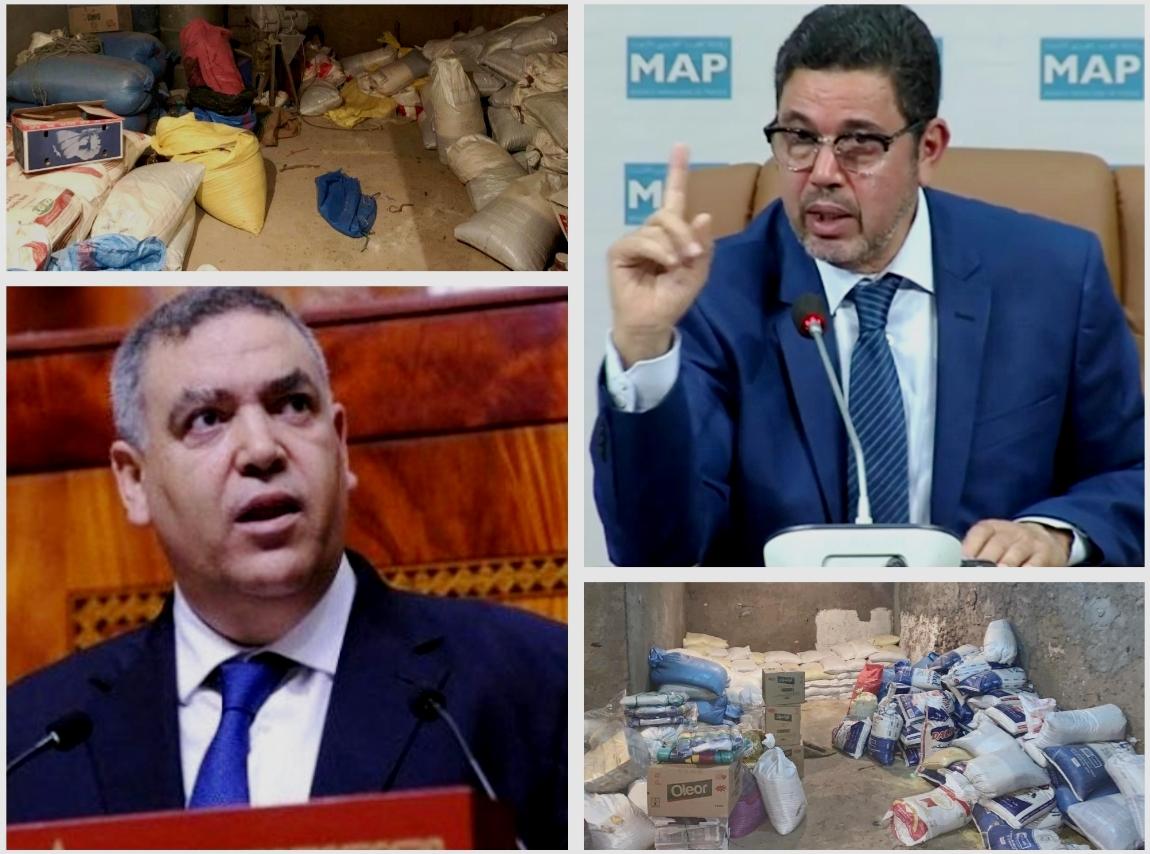 أطنان من المواد الغذائية ''الفاسدة'' بإقليم سيدي بنور تهدد الأمن الغذائي وصحة وسلامة رعايا صاحب الجلالة