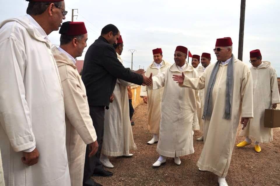 سيدي بنور: الحاجب الملكي يحل بضريح 'بن يفو' لتسليم هبة ملكية بتراب جماعة الغربية