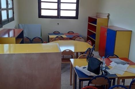 مدرسة في حي النجد بالجديدة تخالف تصميم البناء