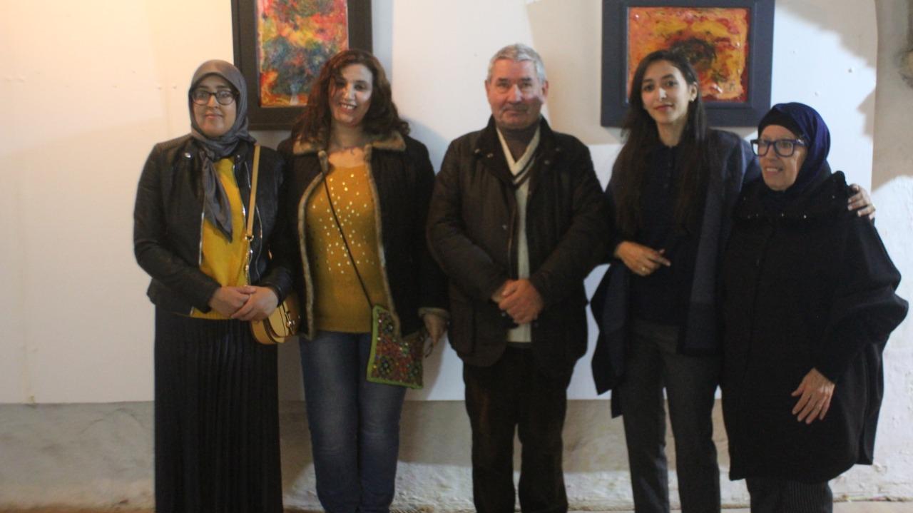 افتتاح معرض الفن التشكيلي المغربي الفرنسي المشترك بالجديدة