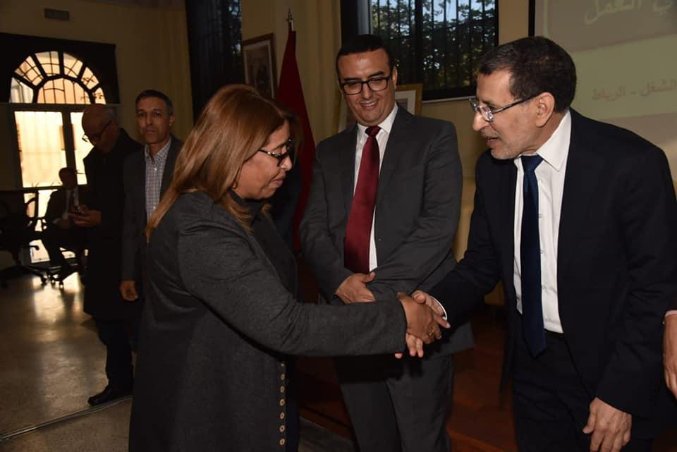 توقيع اتفاقية شراكة بين الجمعية المغربية منال من الجـديدة ووزارة الشغل والادماج المهني