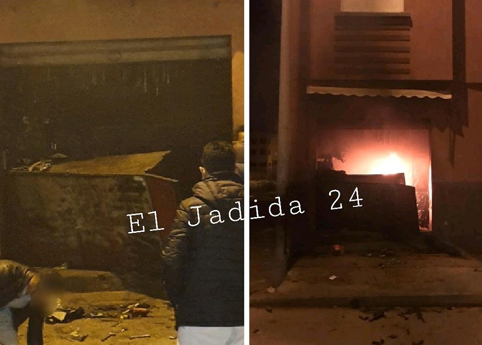 القاء القبض على شاب ''مقرقب'' أضرم النار في محل لميكانيك السيارات بحي نرجس بالجديدة
