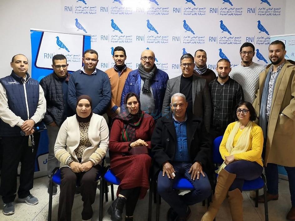 انتخاب الدكتور محمد بياض رئيسا لمنظمة مهنيي قطاع الصحة التجمعيين بإقليم الجديدة